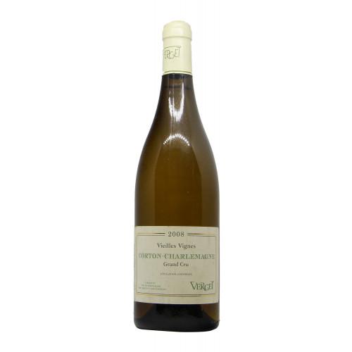 Vini di Borgogna CORTON CHARLEMAGNE (2008)
