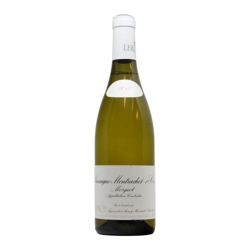 vino naturale CHASSAGNE MONTRACHET 1ER CRU MORGEOT (2010)