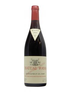 vino naturale CHATEAU RAYAS ROUGE (2008)