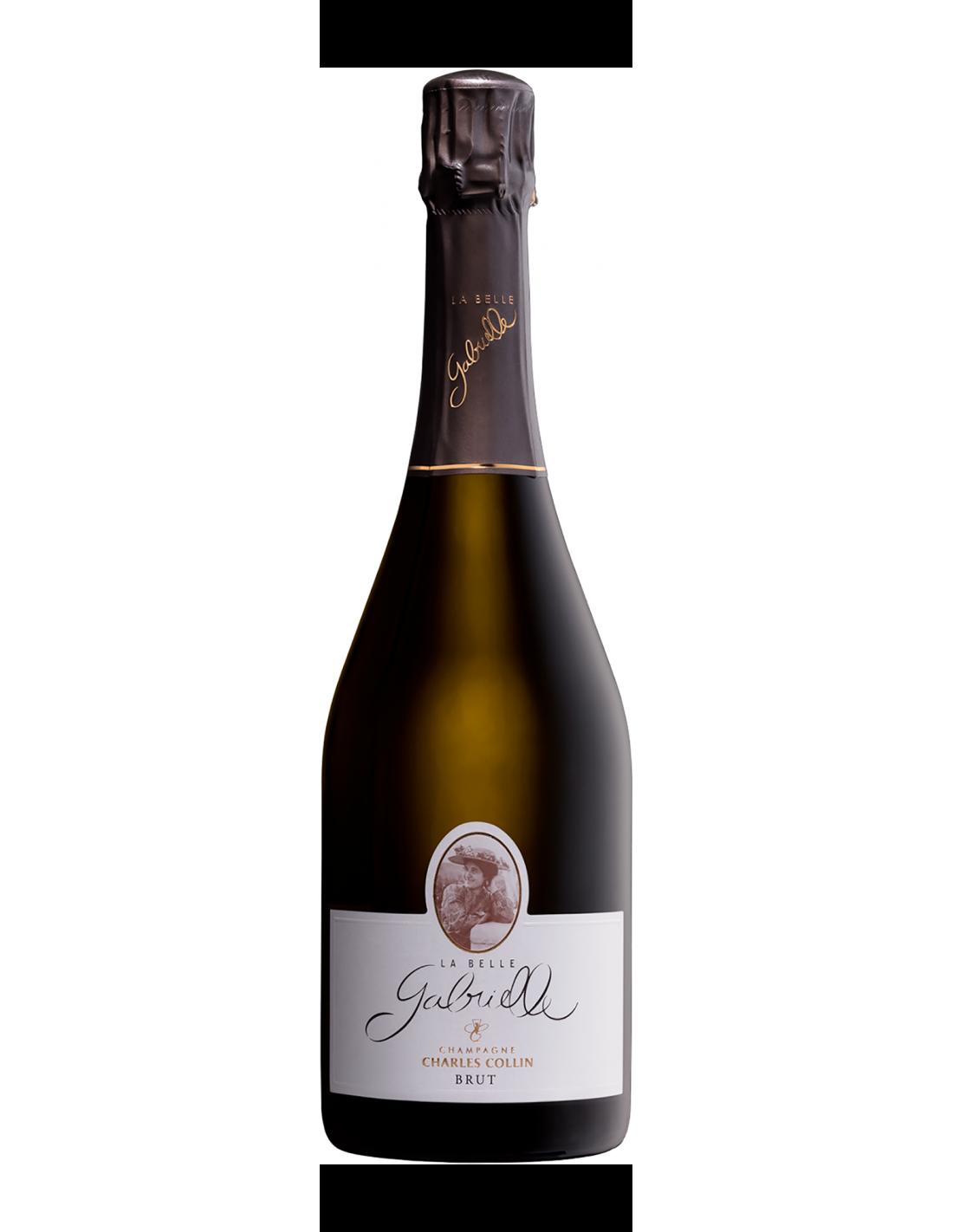 CHAMPAGNE BRUT LA BELLE GABRIELLE NV CHARLES COLLIN Grandi Bottiglie