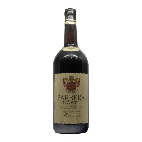 BARBERA ASTI 1971 BARISONE Grandi Bottiglie