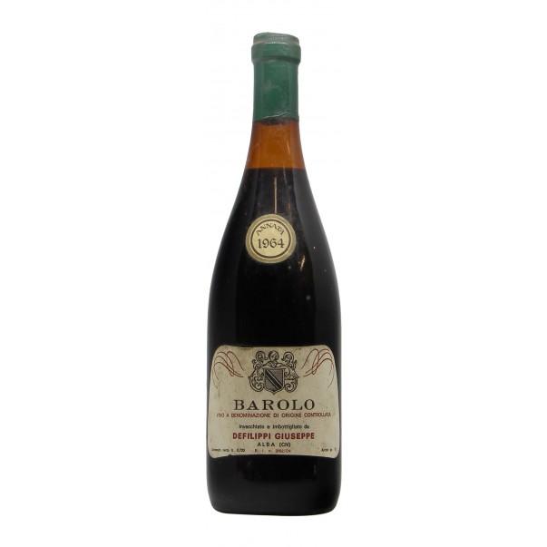 BAROLO 1964 DEFILIPPI GIUSEPPE Grandi Bottiglie