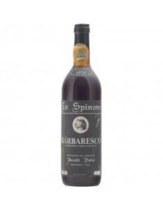 BARBARESCO LA SPINONA 1976 BERUTTI Grandi Bottiglie