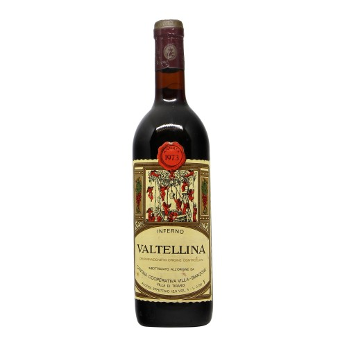 VALTELLINA INFERNO 1973 CANTINA COOPERATIVA VILLA Grandi Bottiglie