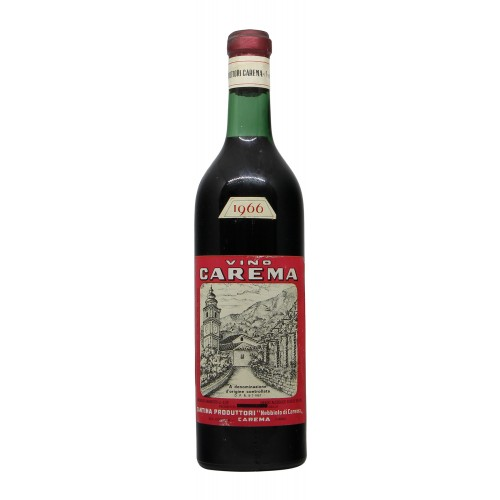 CAREMA 1966 CANTINA DEI PRODUTTORI DI NEBBIOLO DI CAREMA Grandi Bottiglie