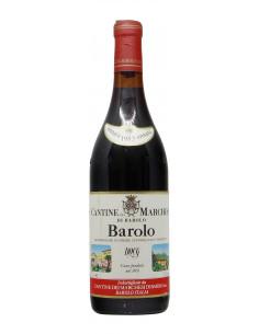 BAROLO BRUNATE 1982 MARCHESI DI BAROLO Grandi Bottiglie