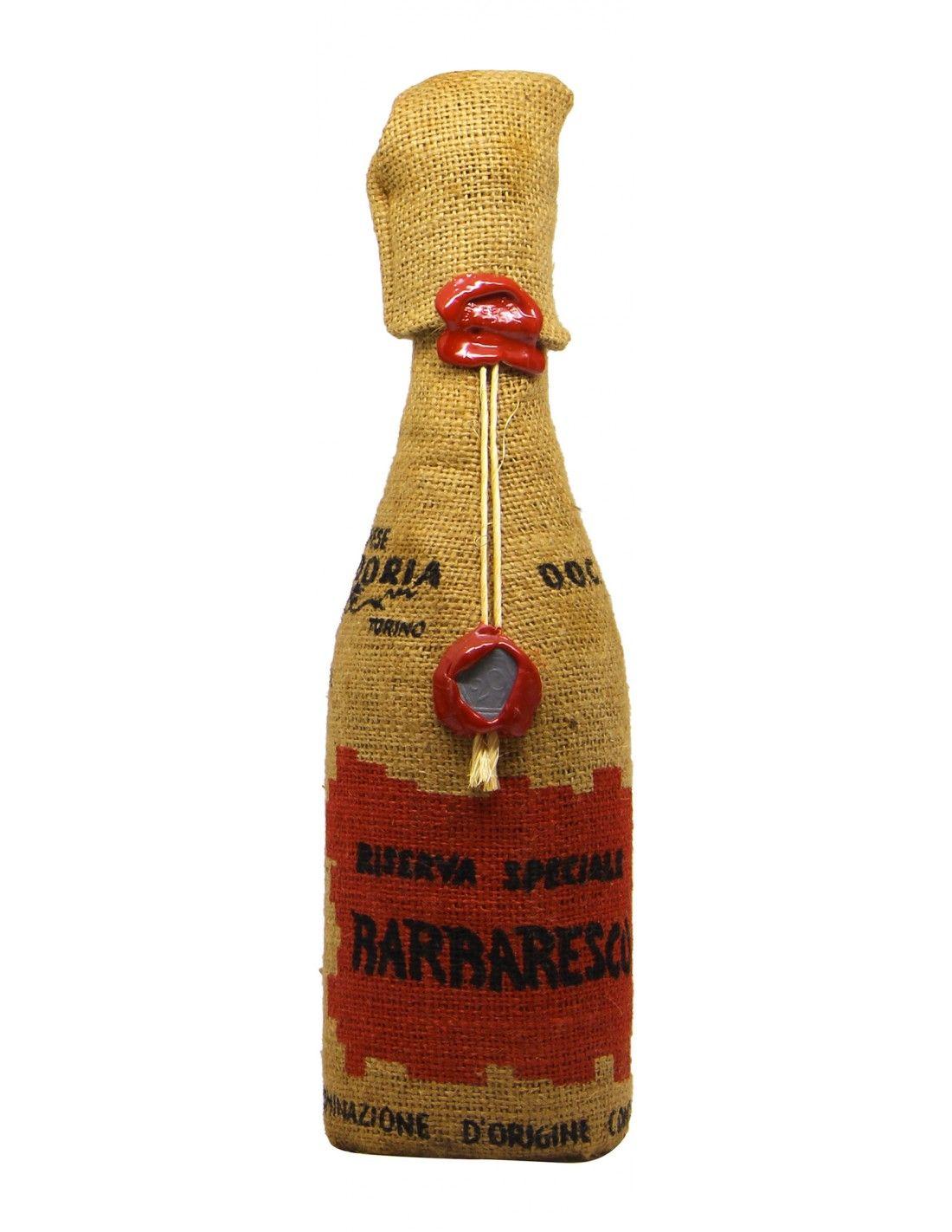 BARBARESCO RISERVA SPECIALE JUTA 1967 VILLADORIA Grandi Bottiglie