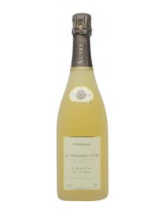 vino naturale CHAMPAGNE LE NOMBRE D'OR SABLE BLANC DES BLANCS (2004)