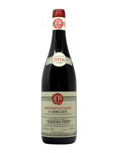 vino naturale MONTEPULCIANO D'ABRUZZO  (2016)