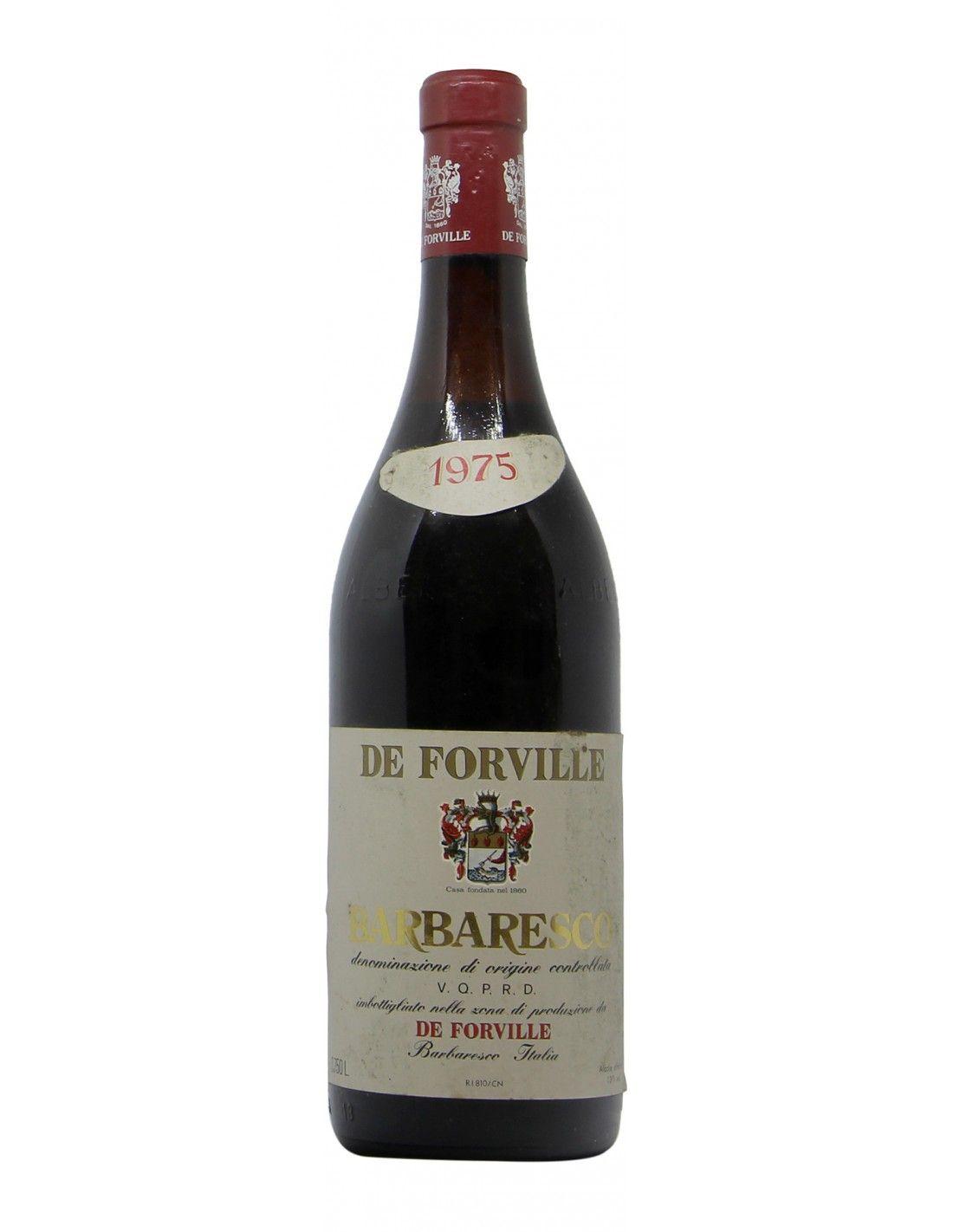 BARBARESCO 1975 DE FORVILLE Grandi Bottiglie