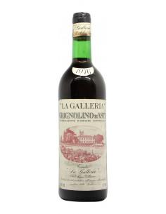 GRIGNOLINO D'ASTI 1976 CANTINA LA GALLERIA Grandi Bottiglie
