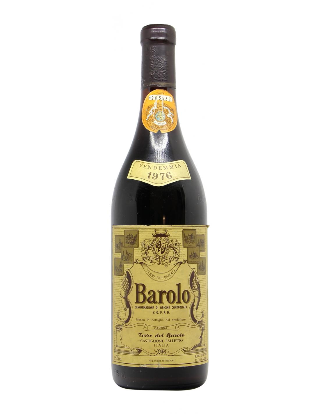 BAROLO 1976 TERRE DEL BAROLO Grandi Bottiglie