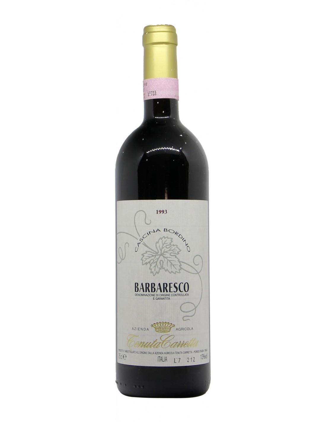 BARBARESCO CASCINA BORDINO 1993 TENUTA CARRETTA Grandi Bottiglie