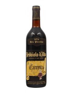 Nebbiolo D'Alba Bric Paradiso 1974 TENUTA CARRETTA GRANDI