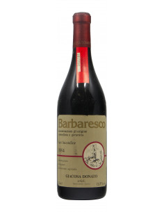 BARBARESCO SURI SECONDINE 1984 GIACOSA DONATO Grandi Bottiglie