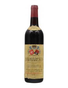 BARBARESCO 1967 FRATELLI GIACOSA Grandi Bottiglie