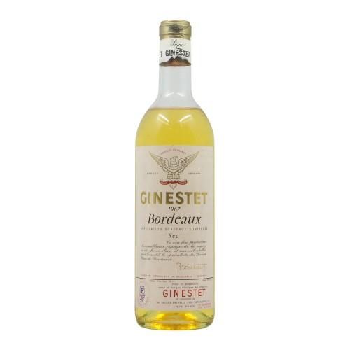 BORDEAUX SEC 1967 GINESTET Grandi Bottiglie