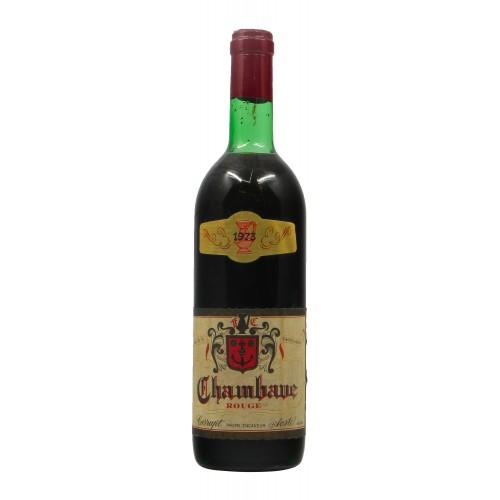 Chambave Rouge 1973 CARRUPT GRANDI BOTTIGLIE