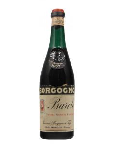 BAROLO RISERVA CLEAR COLOUR 1957 BORGOGNO GIACOMO Grandi Bottiglie