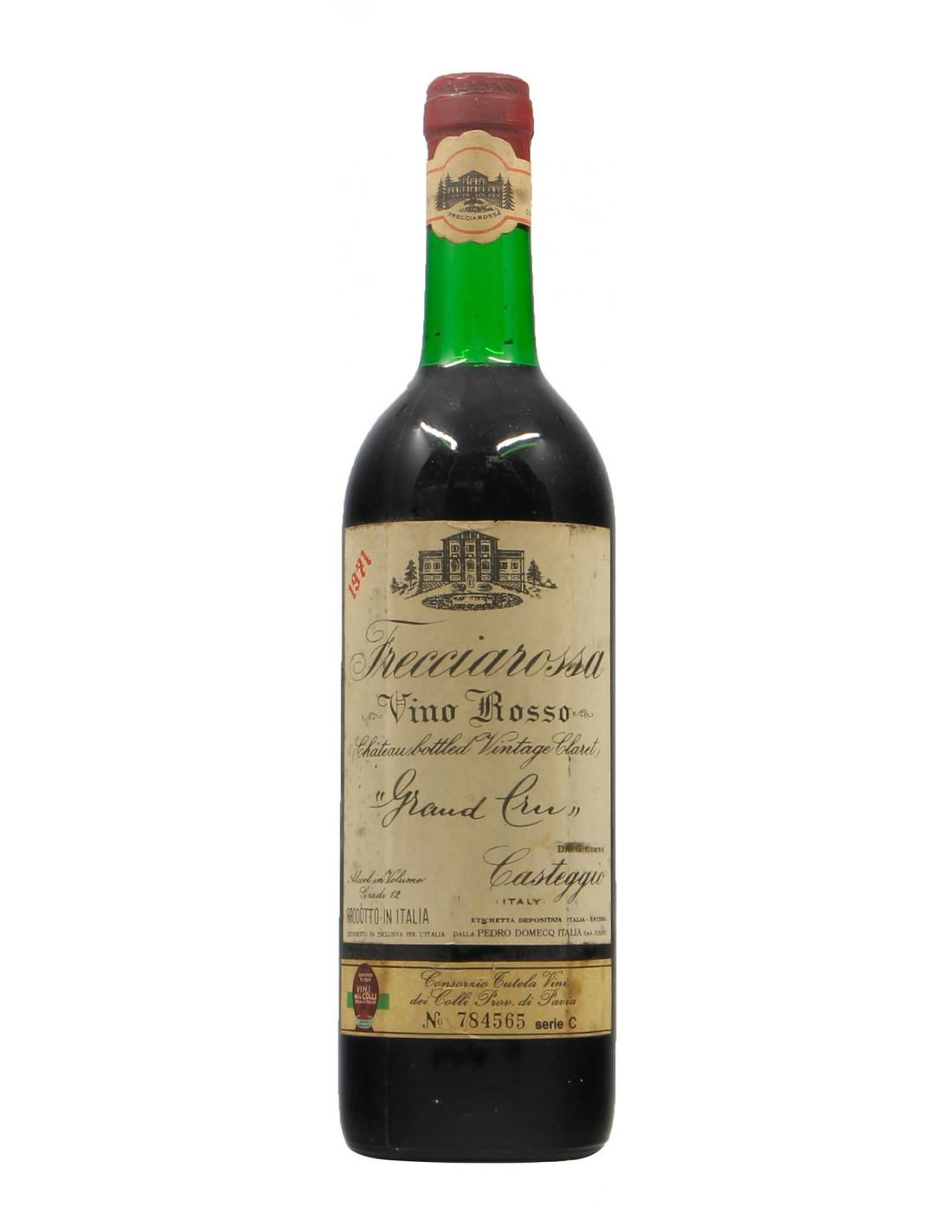ROSSO GRAN CRU 1971 FRECCIAROSSA Grandi Bottiglie