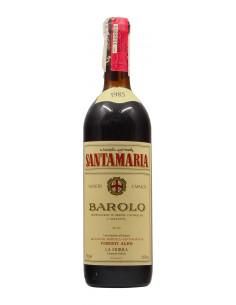 BAROLO VIGNETO CAPALOT 1985 VIBERTI ALDO Grandi Bottiglie