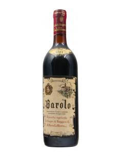 BAROLO 1981 S.BIAGIO DI ROGGERO Grandi Bottiglie