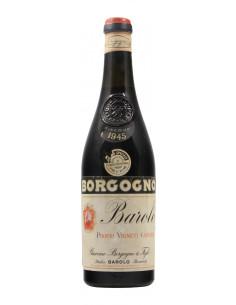 Barolo Riserva Low Level 1945 BORGOGNO GIACOMO GRANDI BOTTIGLIE