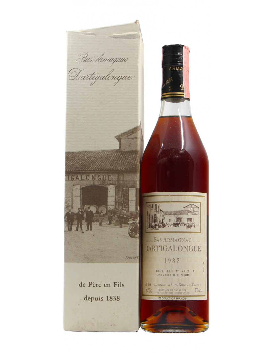 BAS ARMAGNAC 1982 DARTIGALONGUE GRANDI BOTTIGLIE