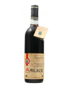 SALICE ROSSO STRAVECCHIO 1964 LEONE DE CASTRIS Grandi Bottiglie