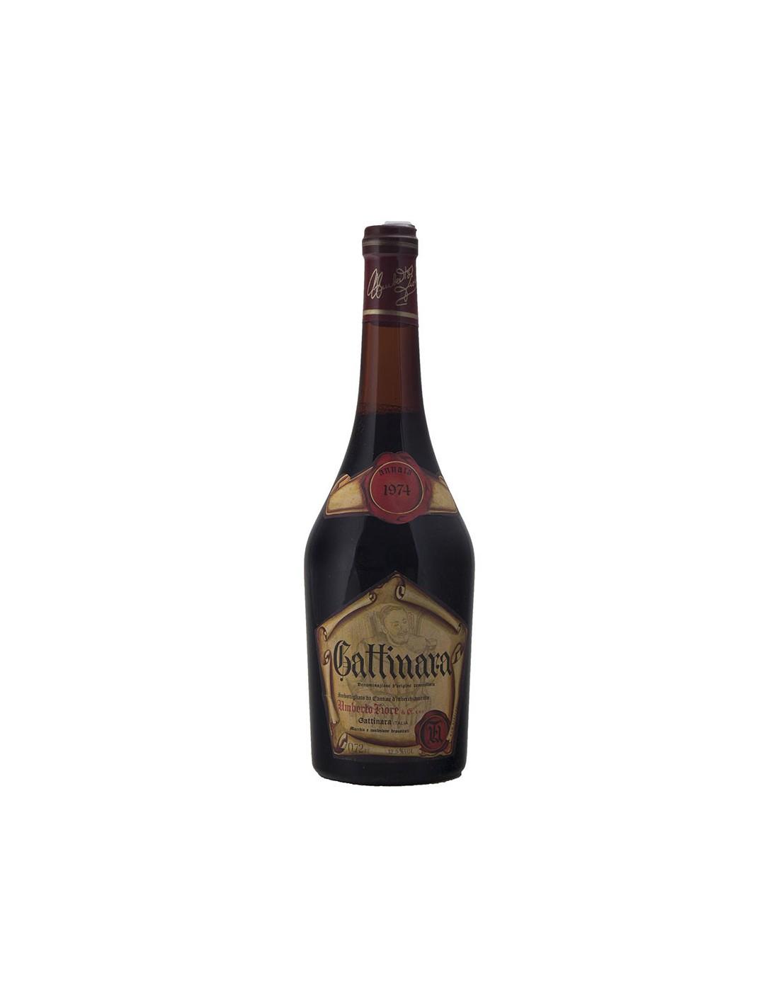 GATTINARA 1974 UMBERTO FIORE Grandi Bottiglie