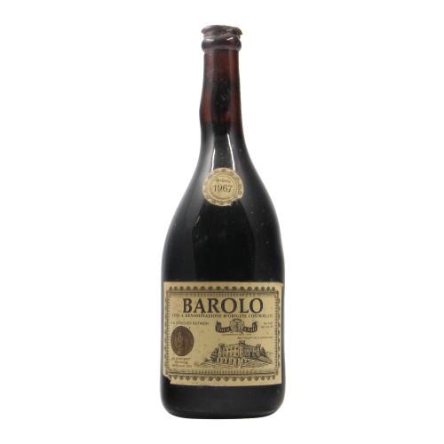 BAROLO RISERVA SPECIALE 1967 DUCA D'ASTI Grandi Bottiglie