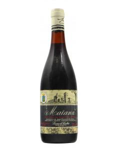 ROSSO DEL SALENTO MAIANA 1969 LEONE DE CASTRIS Grandi Bottiglie