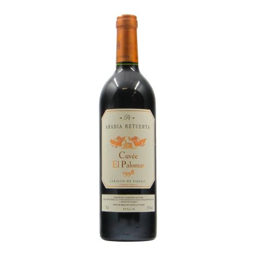 CUVEE' EL PALOMAR 1998 ABADIA RETUERTA Grandi Bottiglie