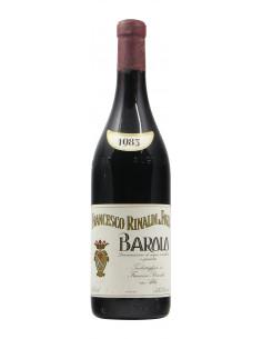 BAROLO CANNUBBIO 1983 RINALDI FRANCESCO Grandi Bottiglie