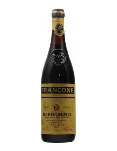 BARBARESCO 1973 FRANCONE Grandi Bottiglie