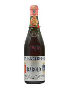 BAROLO CLEAR COLOUR 1954 FONTANAFREDDA Grandi Bottiglie
