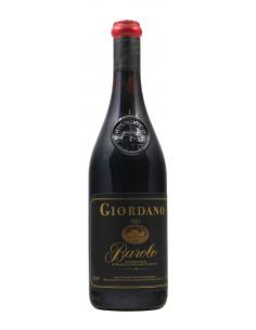 BAROLO 1983 GIORDANO Grandi Bottiglie