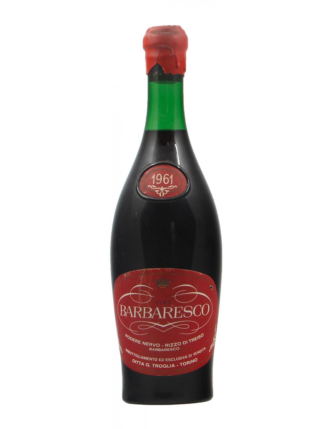 BARBARESCO 1961 TROGLIA Grandi Bottiglie