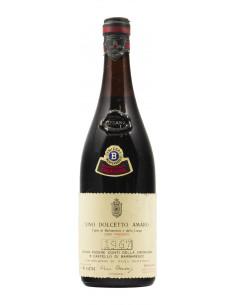 DOLCETTO AMARO 1967 BERSANO Grandi Bottiglie