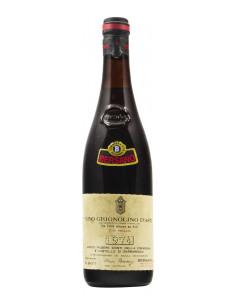 GRIGNOLINO D'ASTI 1974 BERSANO Grandi Bottiglie