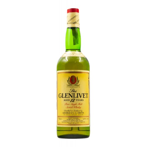 THE GLENLIVET AGED 12 YEARS OLD PURE...