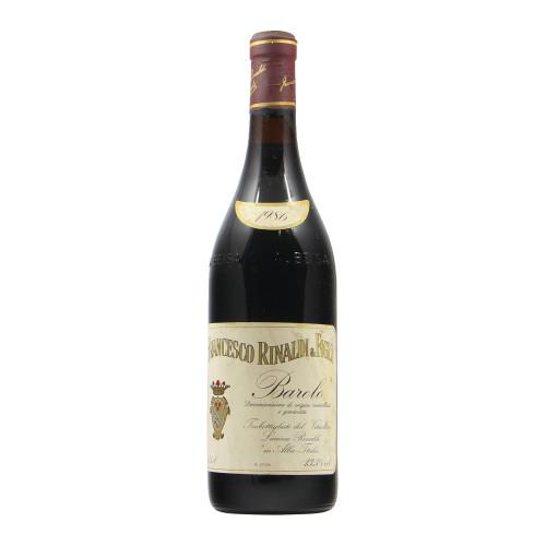 BAROLO 1986 RINALDI FRANCESCO Grandi Bottiglie