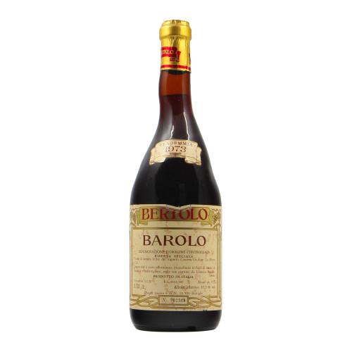 BAROLO RISERVA SPECIALE 1973 BERTOLO Grandi Bottiglie