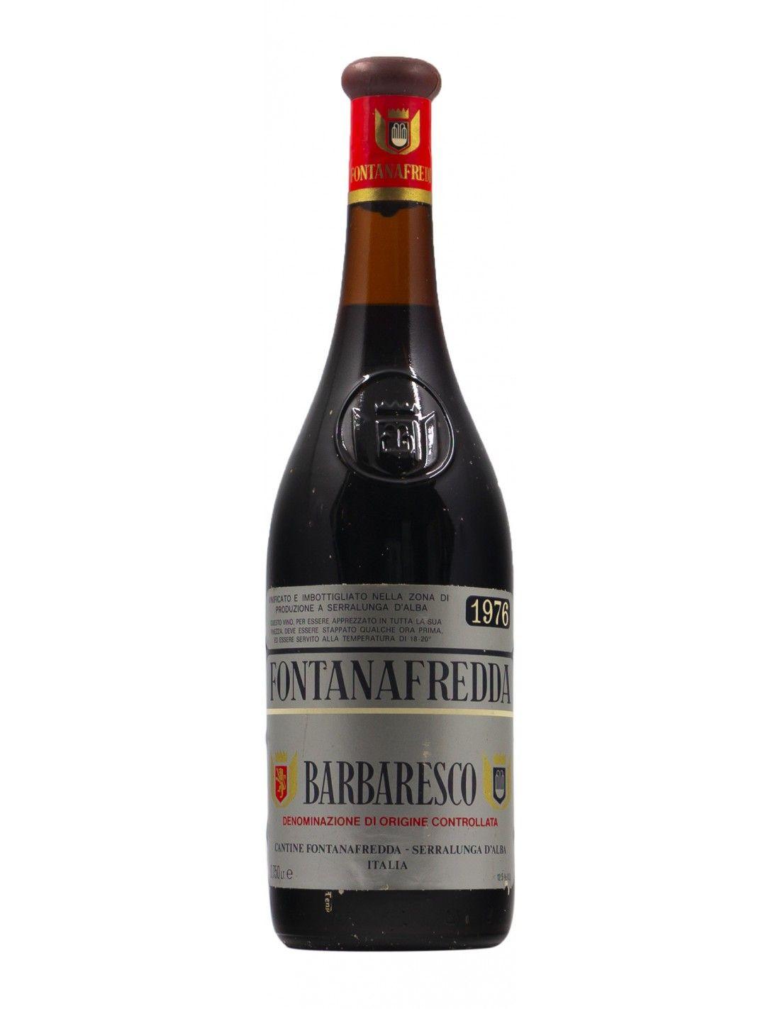BAROLO 1976 FONTANAFREDDA Grandi Bottiglie