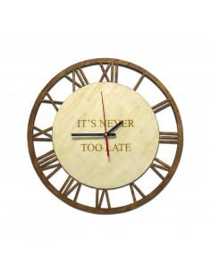 Orologio personalizzato da parete - blitzen big bang WINE ATTACH Grandi Bottiglie