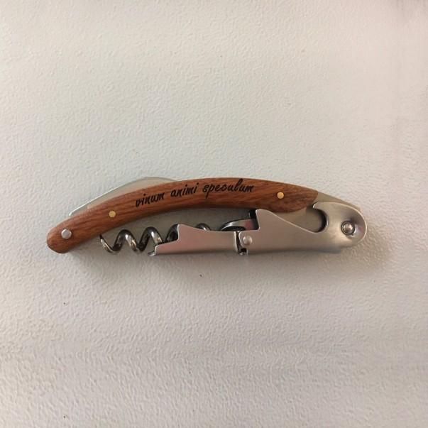 Personalised corkscrew - Foxy | oohwine.com