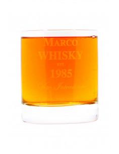 Personalised Whisky Tumbler Glass XL |oohwine.com