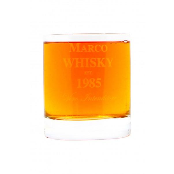 Bicchiere da whisky personalizzato XL - tumbler WINE ATTACH Grandi Bottiglie