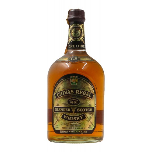 Chivas regal blended scotch whisky 12 YO 100CL NV CHIVAS REGAL Grandi Bottiglie