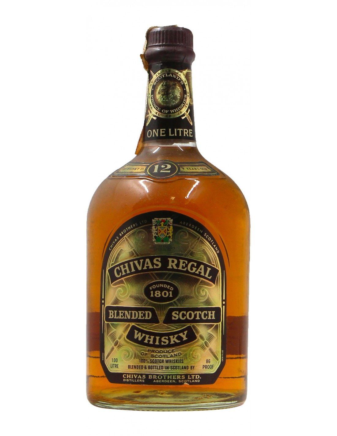 Chivas regal blended scotch whisky 12 YO 100CL NV CHIVAS REGAL Grandi Bottiglie